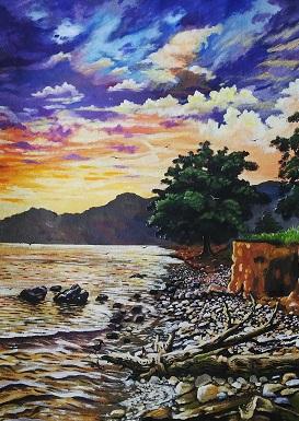 Ato West coast sunset